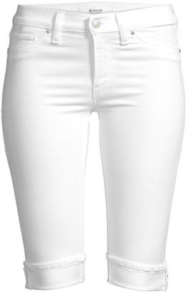 Hudson Amelia Knee-Length Cuffed Denim Shorts