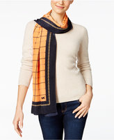 MICHAEL Michael Kors Windowpane Oblong Scarf