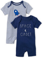 Rene Rofe Newborn Boys) Two-Pack Space Cadet Rompers