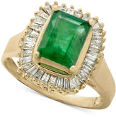 Effy Gemma by Sapphire (1-5/8 ct. t.w.) and Diamond (5/8 ct. t.w.) Ring in 14k White Gold (Also in Emerald)