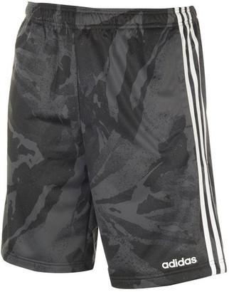 adidas 3 Stripe Camo Shorts Mens
