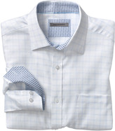 Johnston & Murphy Herringbone Dash Windowpane Shirt