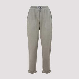 Brunello Cucinelli Drawstring Tapered Sweatpants