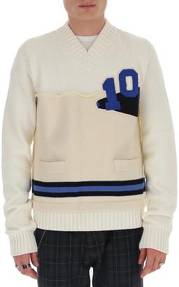 Maison Margiela Layered V-Neck Sweater