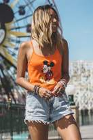 Forever 21 FOREVER 21+ Mickey Mouse Cami