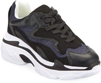 Ash Valery Glitter Trainer Sneakers