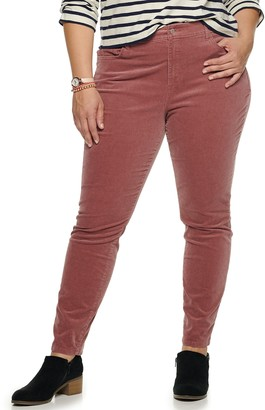 Sonoma Goods For Life Plus Size High Rise Skinny Pants