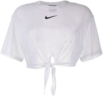 Nike knot detail T-shirt