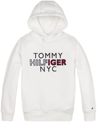 Tommy Hilfiger Organic Cotton Mix Hoodie, 10-16 Years