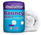 Slumberdown Bouncy 10.5 Tog Duvet, White, Double