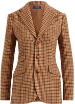 Polo Ralph Lauren Houndstooth Wool Blazer