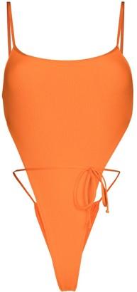 Frankie's Bikinis Croft front-tie swimsuit