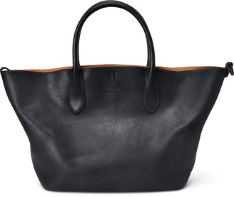 Ralph Lauren Leather Medium Bellport Tote