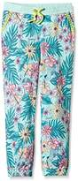 Animal Girl's Palm Flower/S91 Sports Trousers,Small