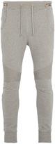Balmain Drawstring-waist cotton-jersey track pants