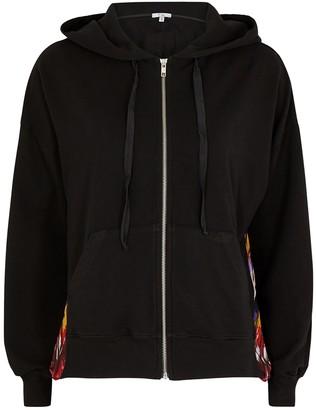 Clu Black Panelled Jersey Sweatshirt