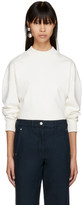 Lemaire Off-white Ribbed Sweatshirt