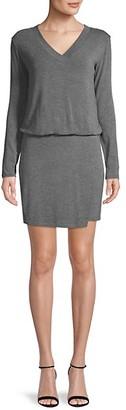 Bailey 44 V-Neck Blouson Mini Dress