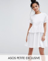 Asos Skater Dress with Cotton Lace Trim