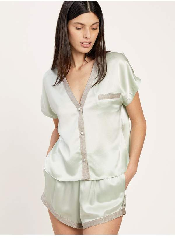 Morgan Lane Joanie Top In Mint
