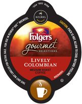 Vue VueTM Pack 16-Count Folgers Gourmet Selections® Lively Colombian Coffee for Keurig Brewers