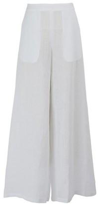 Mansur Gavriel Oversized linen pants