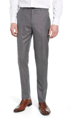 1901 Skinny Fit Flat Front Wool Trousers