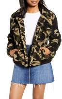 Blank NYC Blanknyc Denim Cozy Teddy Faux Shearling Trucker Jacket