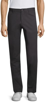 Theory Zaine Witten Flat-Front Pants