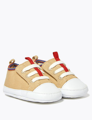 Marks and Spencer Baby Riptape Trim Trainers (0-18 Mths)