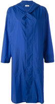 Plantation buttoned hooded coat - women - Nylon - S