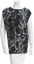 Stella McCartney Leopard Print Sleeveless Top