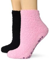 Dr. Scholl's Women's 2 Pack Spa Low Cut Socks With Treads
