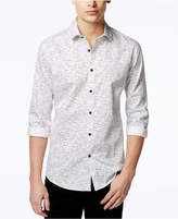 Alfani Men's Slim Craven Dash-Print Long-Sleeve Shirt, Created for Macy's