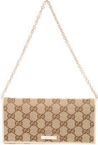Gucci GG Canvas Wallet on Chain