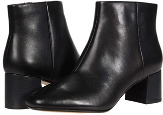 Clarks Sheer Flora 2 (Black Leather) Women's Shoes