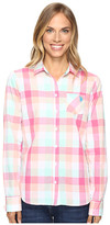 U.S. Polo Assn. Classic Button Front Poplin Plaid Woven Shirt