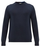 Paul Smith - Crew Neck Merino Wool Sweater - Mens - Navy
