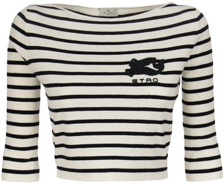 Etro Short Striped Sweater