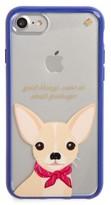 Kate Spade Jeweled Chihuahua Iphone 7 Case - Purple