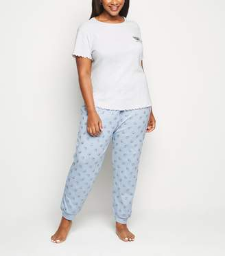 New Look Curves Light Koala Pyjamas