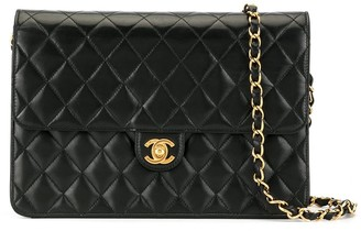 Chanel Pre Owned CC single chain shoulder bag