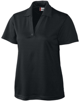 Clique Black Sonoma Textured Performance Polo - Plus Too