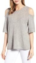 Velvet by Graham & Spencer Women's Wool Blend Cold Shoulder Sweater