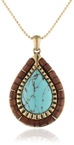 Jenny Bird Gypset Pendant Necklace, 31""