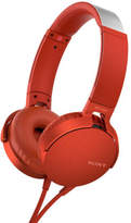 Sony NEW MDR-XB550 XB On-Ear Headphones - Red