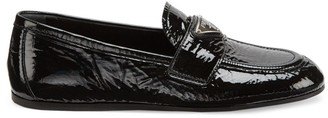 Prada Patent Leather Driving Loafers