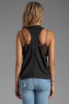 Diane von Furstenberg Paisley Menswear Sequin Top