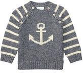 Ralph Lauren Boy Intarsia-Knit Cotton Sweater