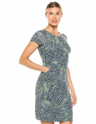 Nic+Zoe Women's Plus Size Leaf Direction Dress